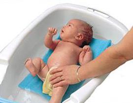 Charla prenatanal: El baño del recién nacido
